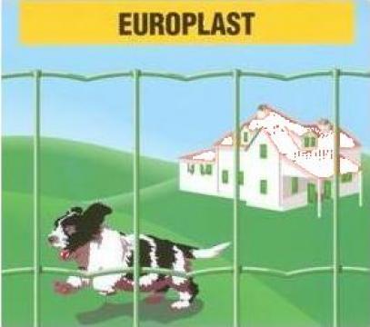 Plasa sudata acoperita cu PVC Europlast