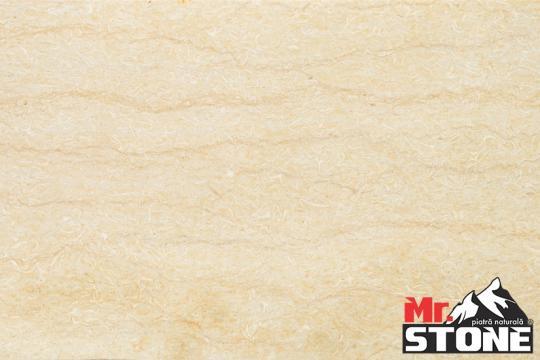 Plinta Limestone SLY vein cut lustruit 60 x 9 x 1,5cm