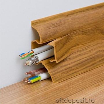 Plinta parchet PVC 62 mm