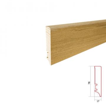 Plinta parchet lemn P78