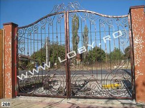 Poarta, gard si portita din fier forjat Poseidon