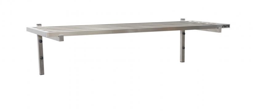 Polita de perete cu tije, 1000mm