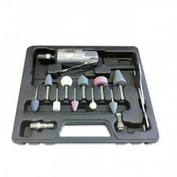 Polizor pneumatic, drept, JBM JB-52157, 16 accesorii, cutie