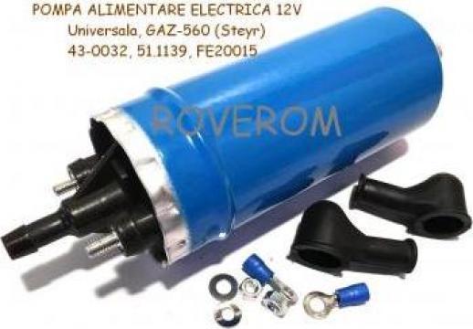 Pompa alimentare electrica 12V, Universala, GAZ-560 (Steyr)