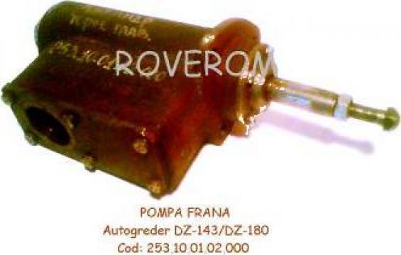 Pompa frana autogreder DZ-143, DZ-180, GS-14
