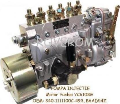 Pompa injectie Yuchai 6108G, XCMG ZL30G, ZL50G, YTO LT214