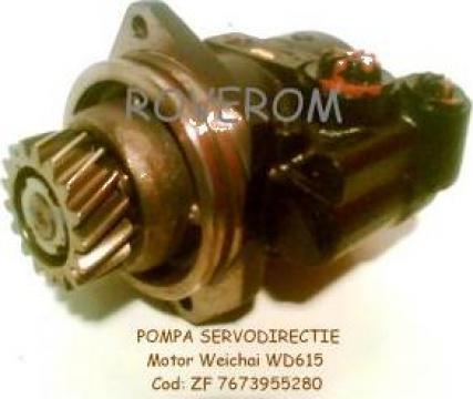 Pompa servodirectie Weichai, WD615, WP10, WP12