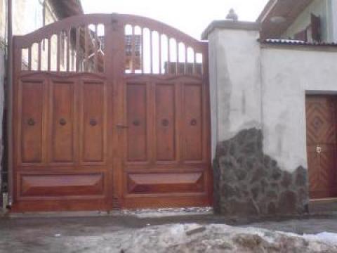 Porti lemn masiv