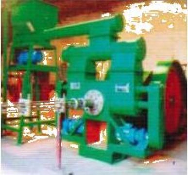 Presa bricheti hidraulica 1000 kg/h