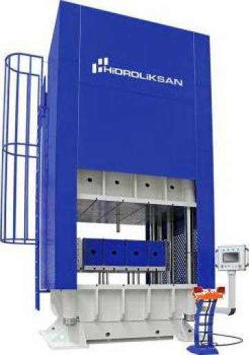 Presa hidraulica cu coloana H cu simplu efect HCFP/100