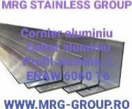 Profil L aluminiu 120x60x2mm Cornier aluminiu Coltar Aluminu