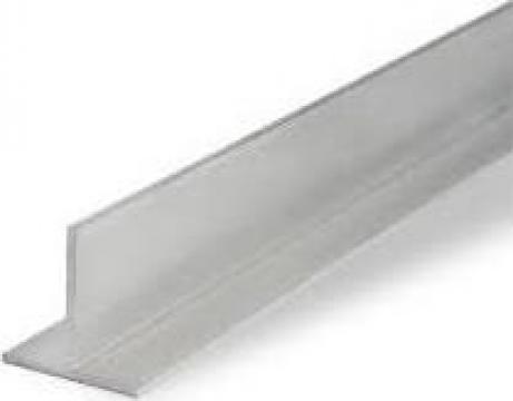 Profil T aluminiu 40x40x2, ENAW 6060 T6 AlMgSi0.5
