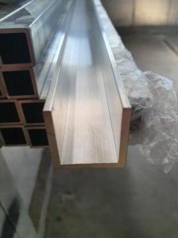Profil U aluminiu 30x30x30mm canal aluminiu alama inox cupru
