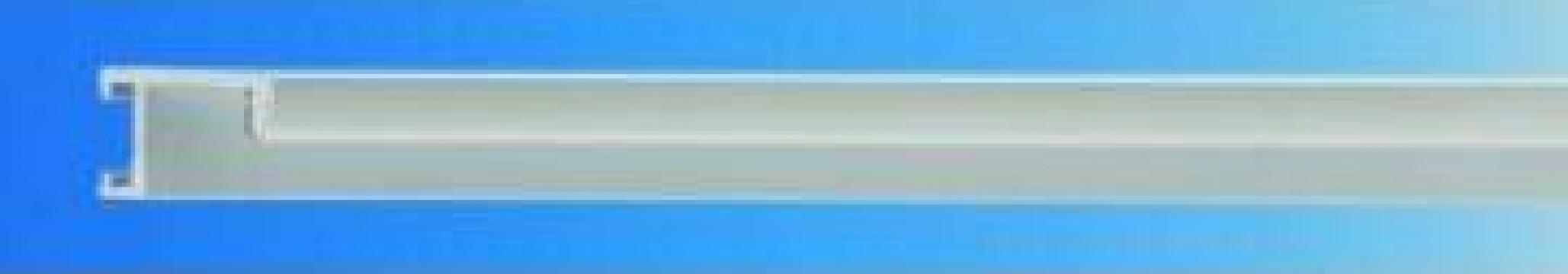Profil aluminiu A1 albastru,auriu