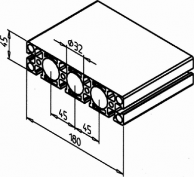 Profil aluminiu
