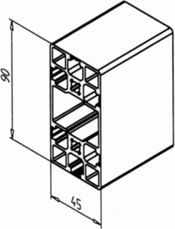 Profil de aluminiu