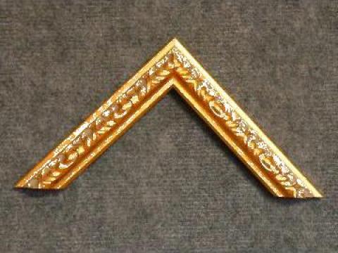 Profil din lemn ingust pentru rame si tablouri