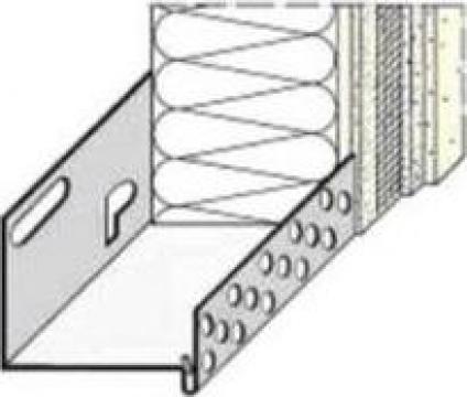 Profil soclu din aluminiu - Caparol Sockelschiene
