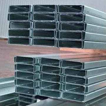 Profile zincate U 180x2