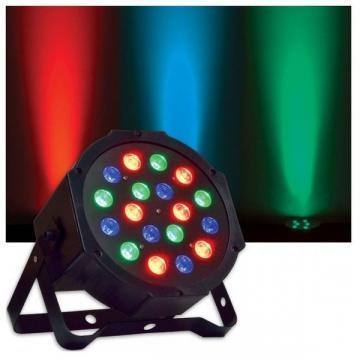 Proiector Par cu efect lumini RGB, 18 LED-uri colorate