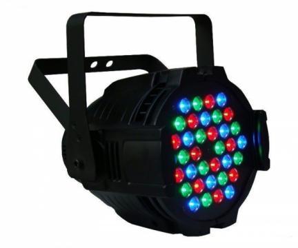 Proiector joc de lumini PAR 36 LED RGB 0 5W