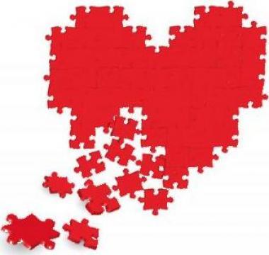 Puzzle personalizat magnetic Inima