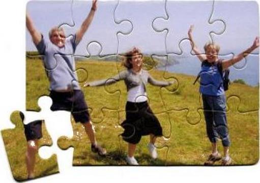 Puzzle personalizat magnetic