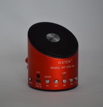 Radio MP3 Mini boxa portabila WS-A9