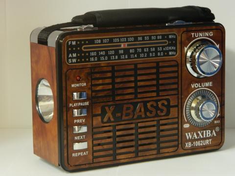 Radio MP3, USB, SD Waxiba XB-1062URT