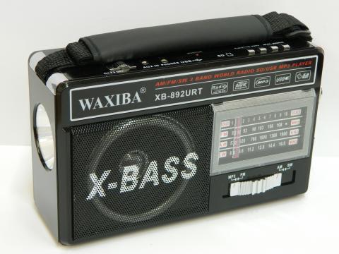 Radio MP3/USB/SD Waxiba XB-892URT