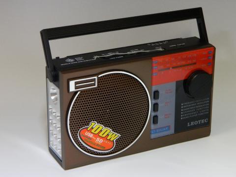 Radio MP3 portabil Leotec LT-311UAR