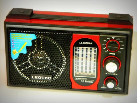 Radio MP3 portabil Leotec LT-905UAR World Receiver