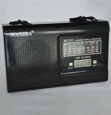 Radio Waxiba cu ceas LCD Waxiba XB-731C