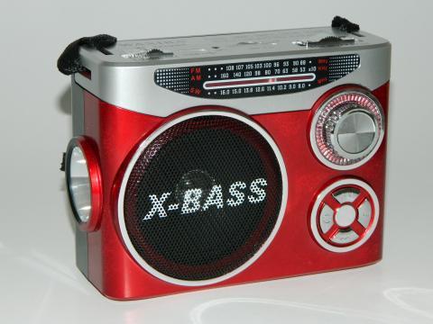 Radio cu MP3 player si lanterna Waxiba XB-231URT