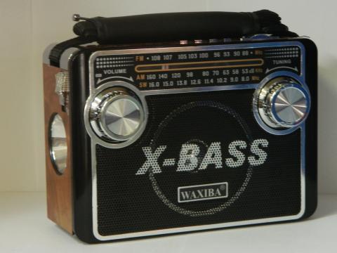 Radio cu lanterna si MP3 player Waxiba XB-3068URT