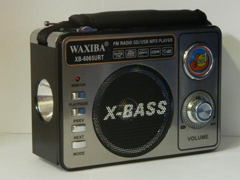 Radio portabil cu MP3 player Waxiba XB-6062URT