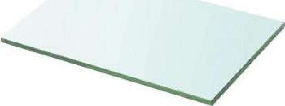 Raft din sticla transparenta, 20 x 30 cm