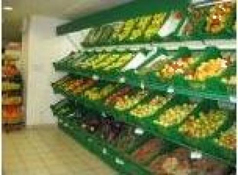 Raft perete pentru legume - fructe