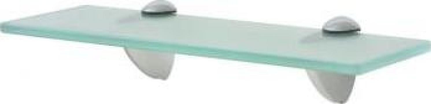 Raft suspendat din sticla, 30 x 10 cm, 8 mm