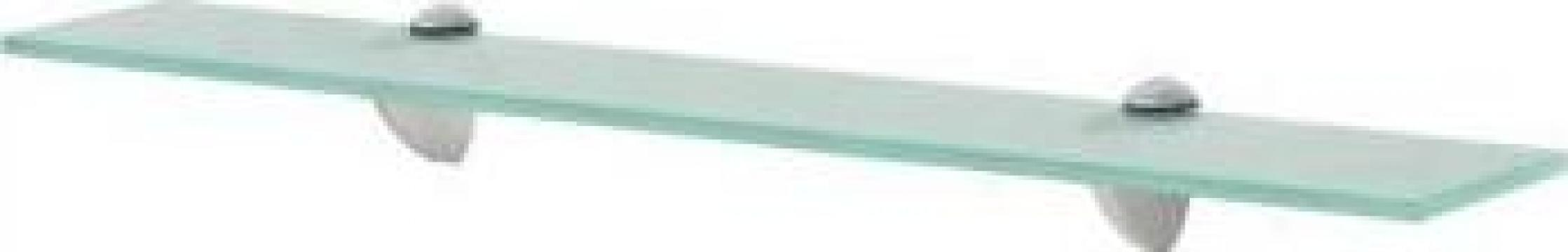 Raft suspendat din sticla, 60 x 10 cm, 8 mm