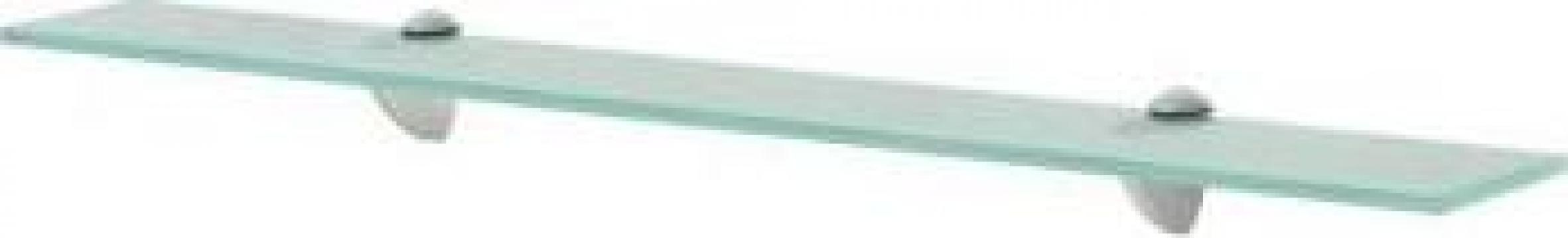 Raft suspendat din sticla, 70 x 20 cm, 8 mm