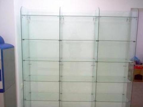 Rafturi de sticla