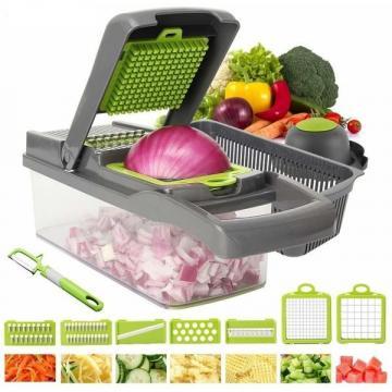 Razatoare multifunctionala pentru legume cu 7 cutite