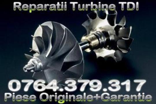 Reconditionare rapida turbine auto