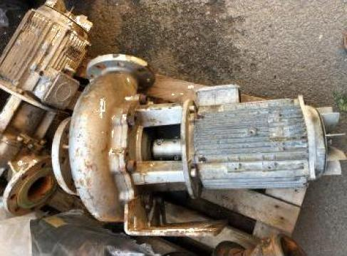 Reparatie pompa centrifuga 4 kw, bobinaj motor