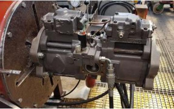 Reparatie pompa hidraulica Kawasaki K3V112DT