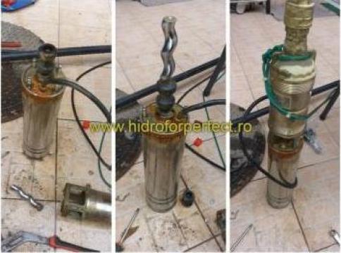 Reparatie pompa submersibila cu snec