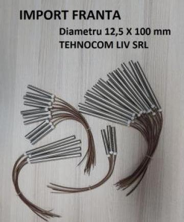 Rezistenta electrica cartus pentru peleti 12,5x100, 600W