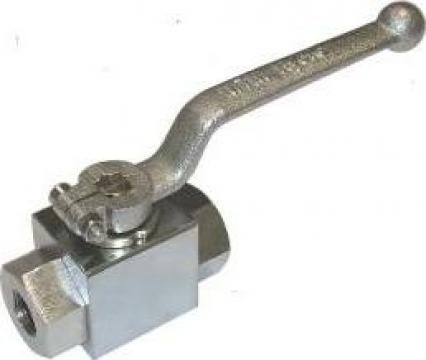 Robinet de inalta presiune instalatie sablare 500 bar