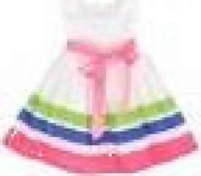 Rochie de vara fara maneci pentru fetite